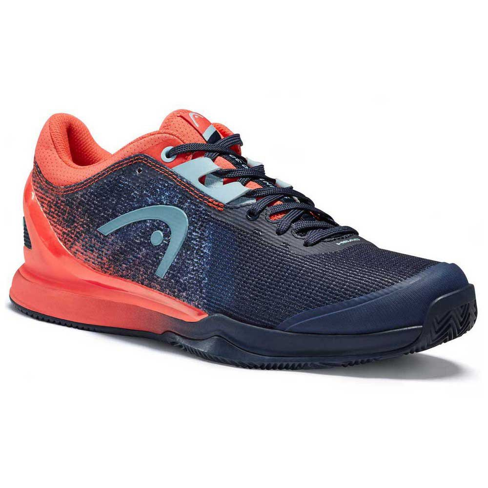 Head Racket Sprint Pro 3.0 Clay EU 39 Dress Blue / Coral