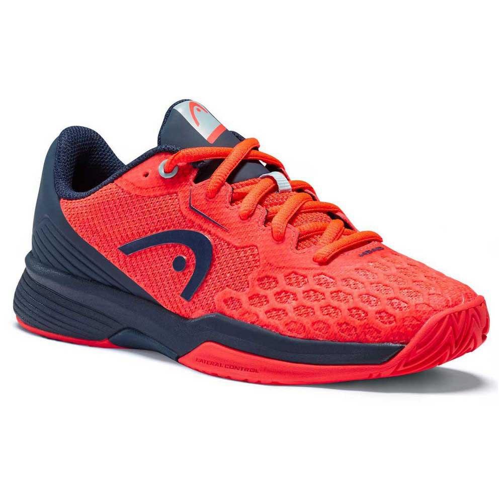 Head Racket Chaussures Revolt Pro 3.5 EU 31 1/2 Neon Red / Dress Blue