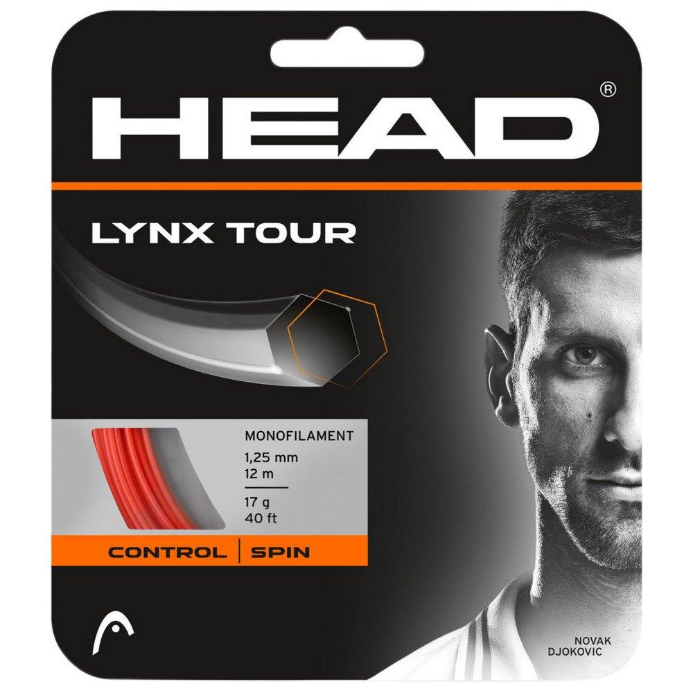 Head Racket Cordage Unité Tennis Lynx Tour 12 M 1.30 mm Orange