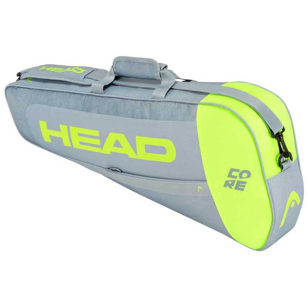 Head Racket Sac Raquettes Core Pro One Size Grey / Neon Yellow
