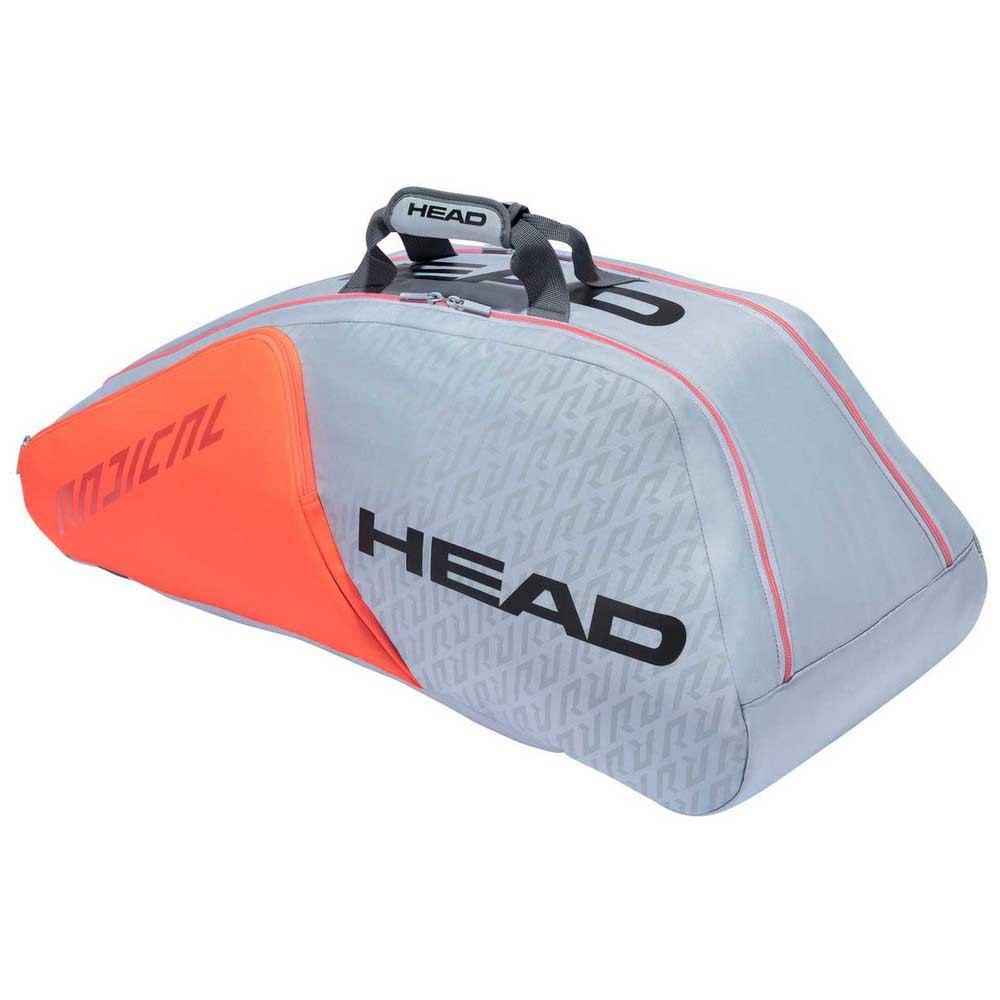 Head Racket Sac Raquettes Radical Supercombi One Size Grey / Orange