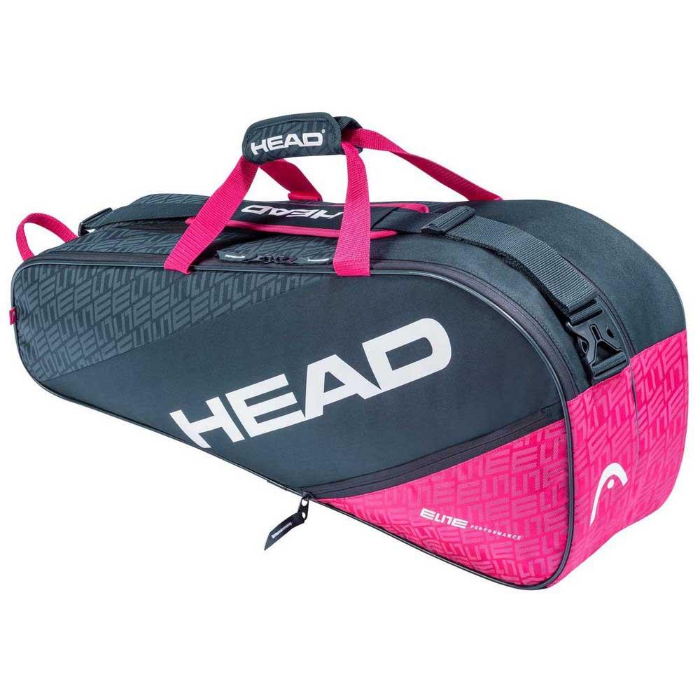 Head Racket Sac Raquettes Elite Combi One Size Anthracite / Pink