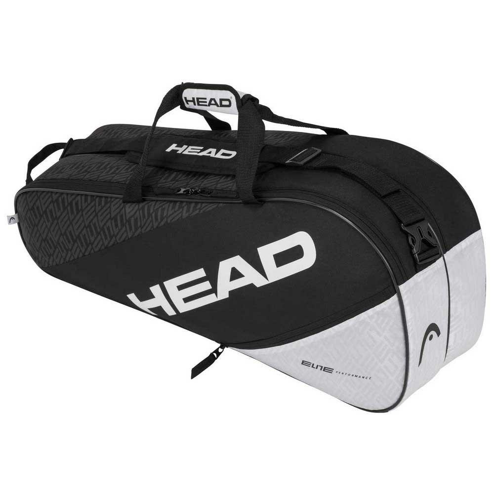 Head Racket Sac Raquettes Elite Combi One Size Black / White