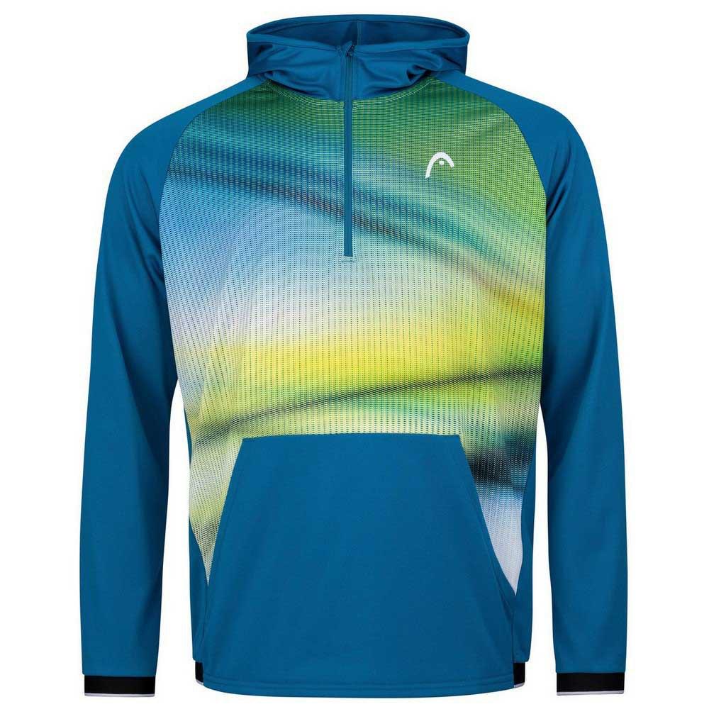 Head Racket Sweat À Capuche Power M Blue / Print Vision