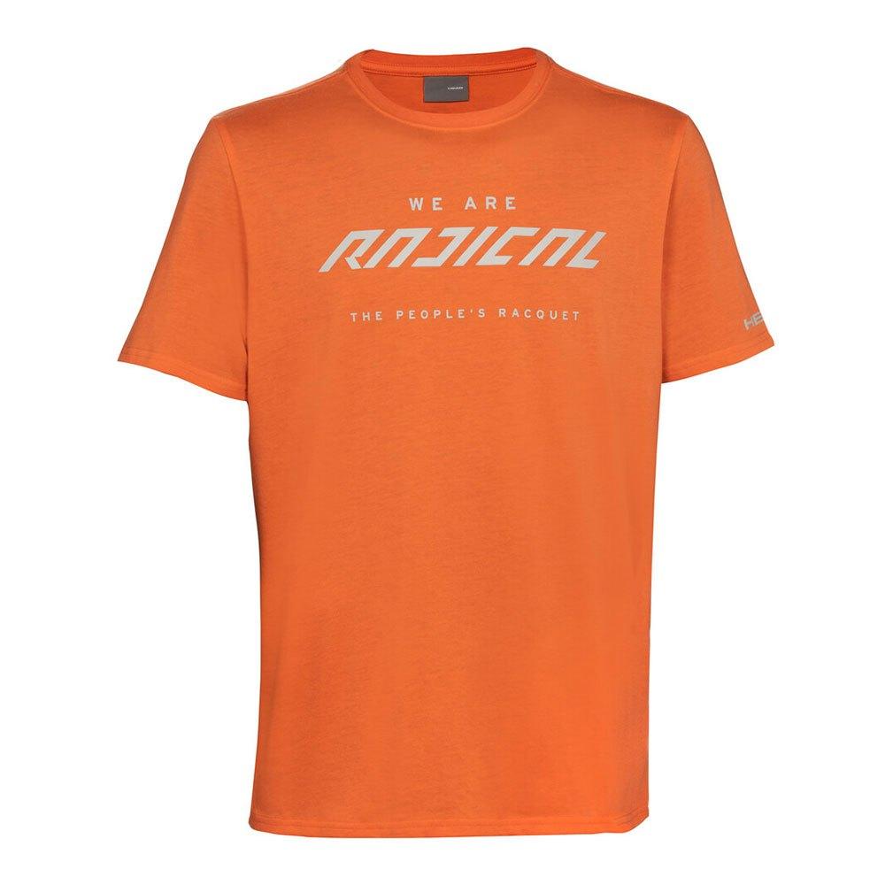 Head Racket T-shirt Manche Courte Radical L Coral