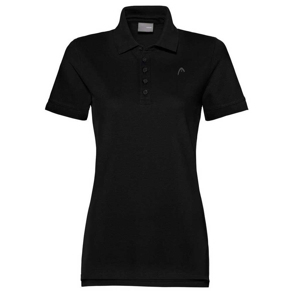 Head Racket Polo Manche Courte L Black