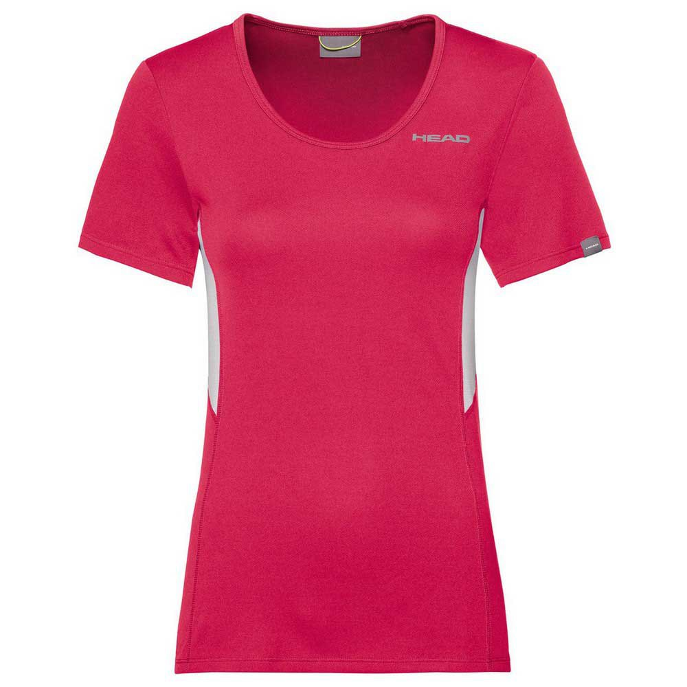 Head Racket T-shirt Manche Courte Club Tech L Magenta