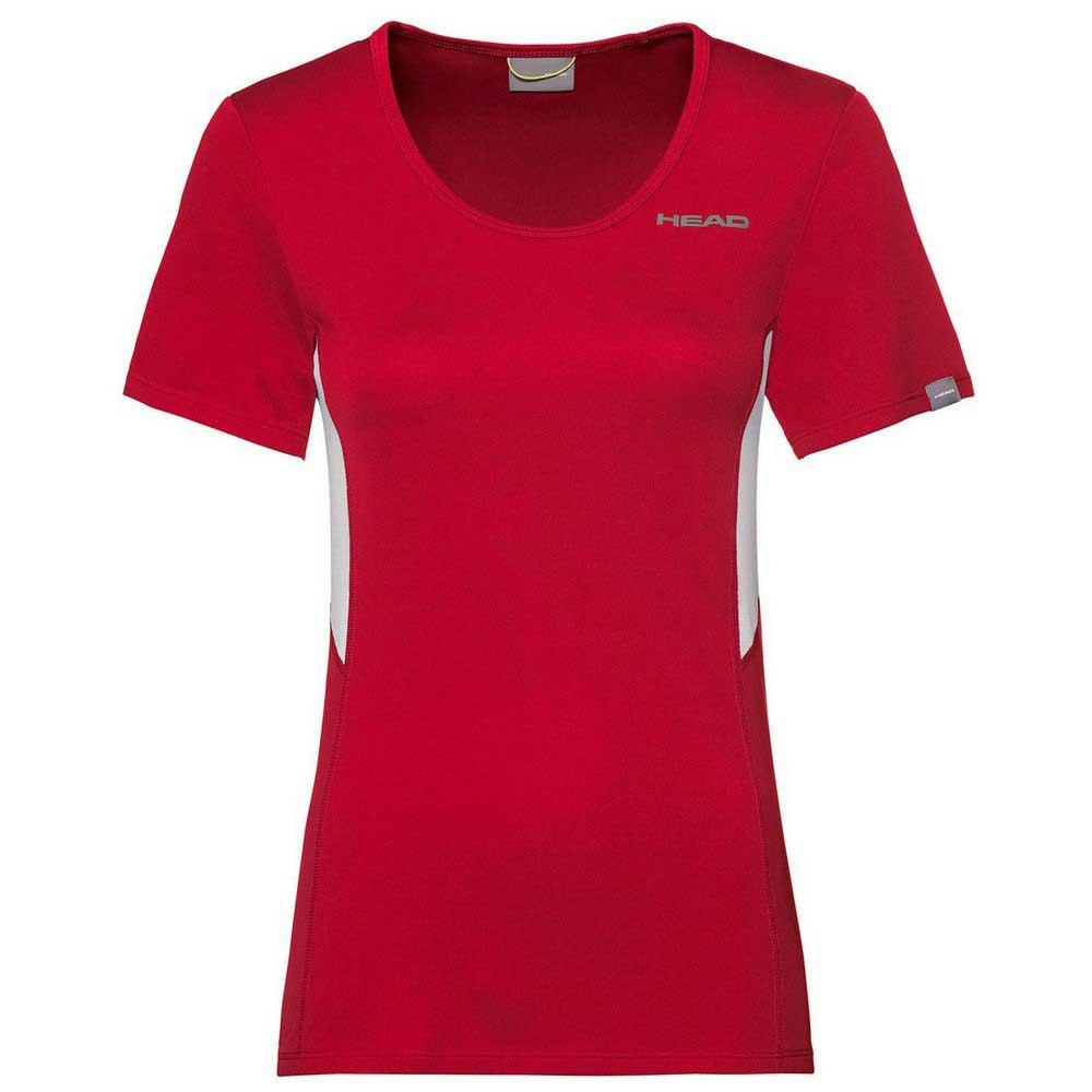 Head Racket T-shirt Manche Courte Club Tech L Red