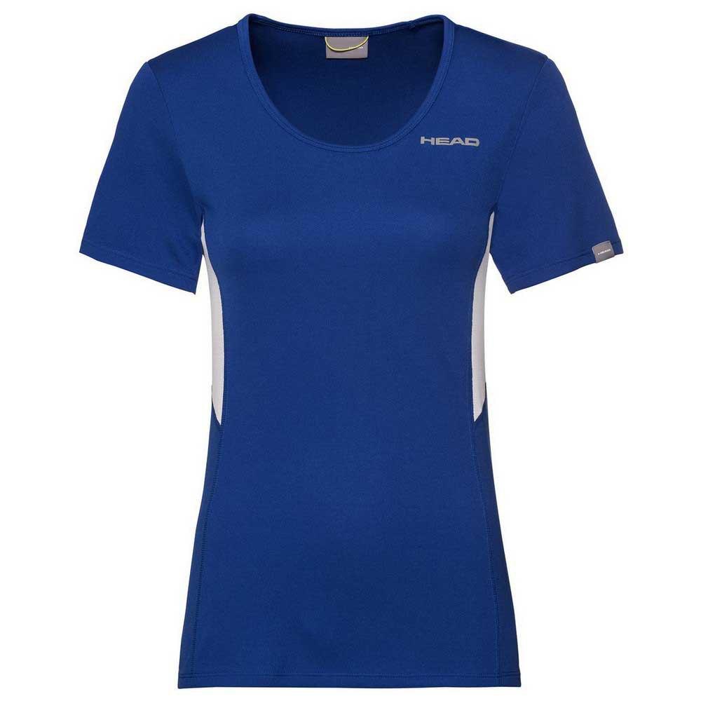 Head Racket T-shirt Manche Courte Club Tech L Royal