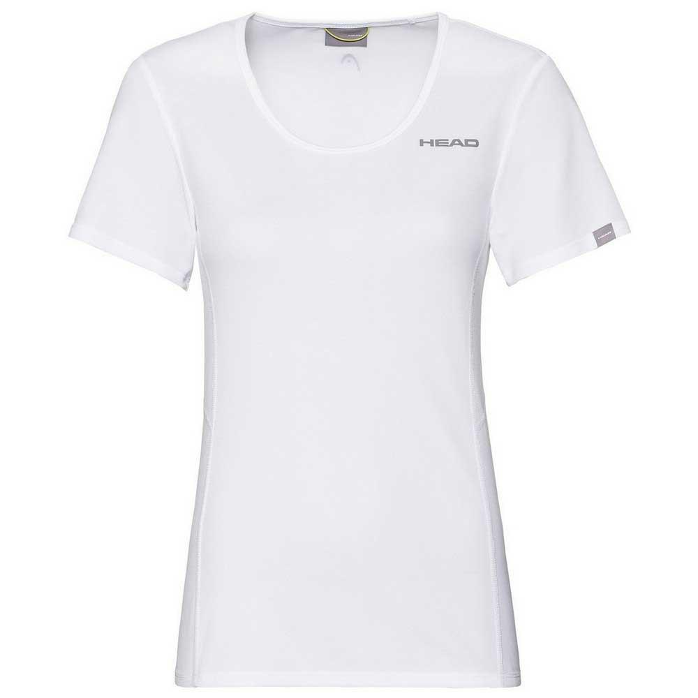 Head Racket T-shirt Manche Courte Club Tech XL White