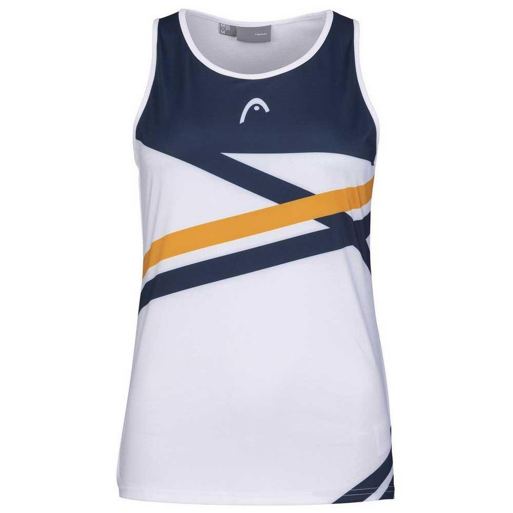 Head Racket T-shirt Sans Manches Performance L Print Perf W / Orange