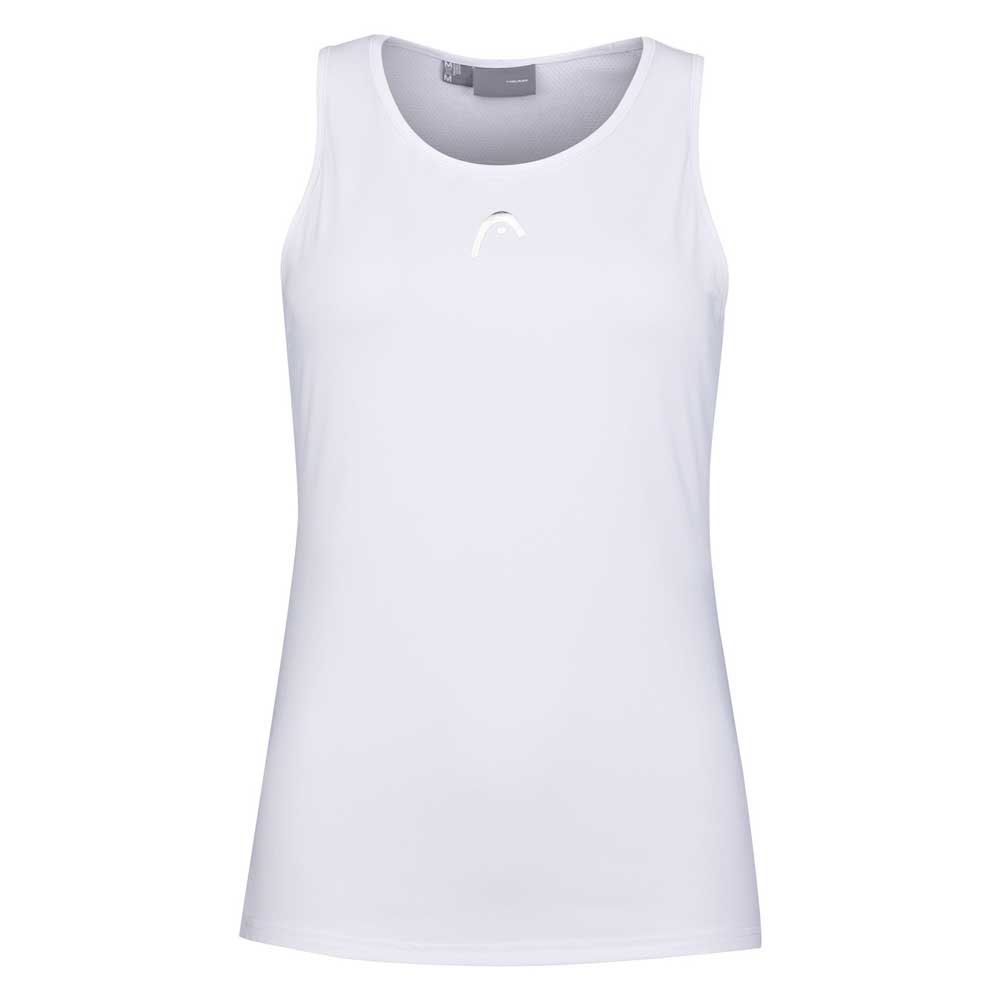 Head Racket T-shirt Sans Manches Performance S Print Perf W / White