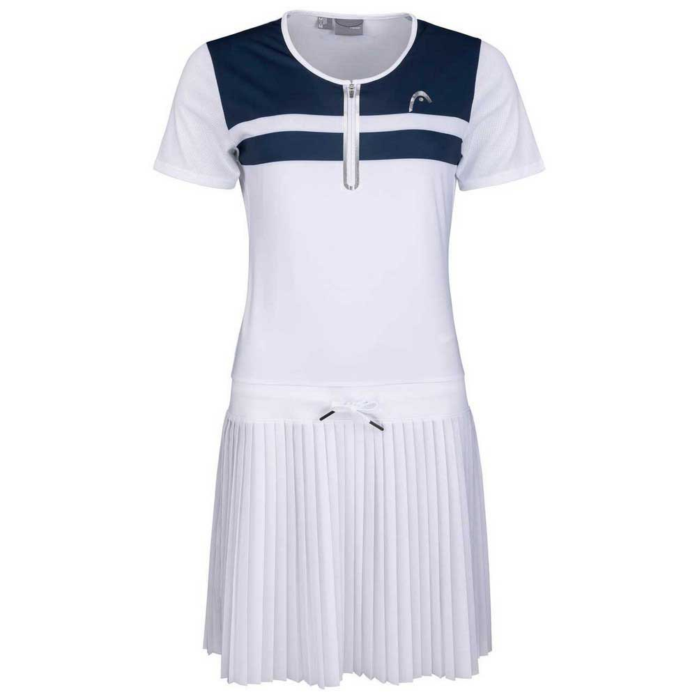 Head Racket Robe Performance L White / Print Perf