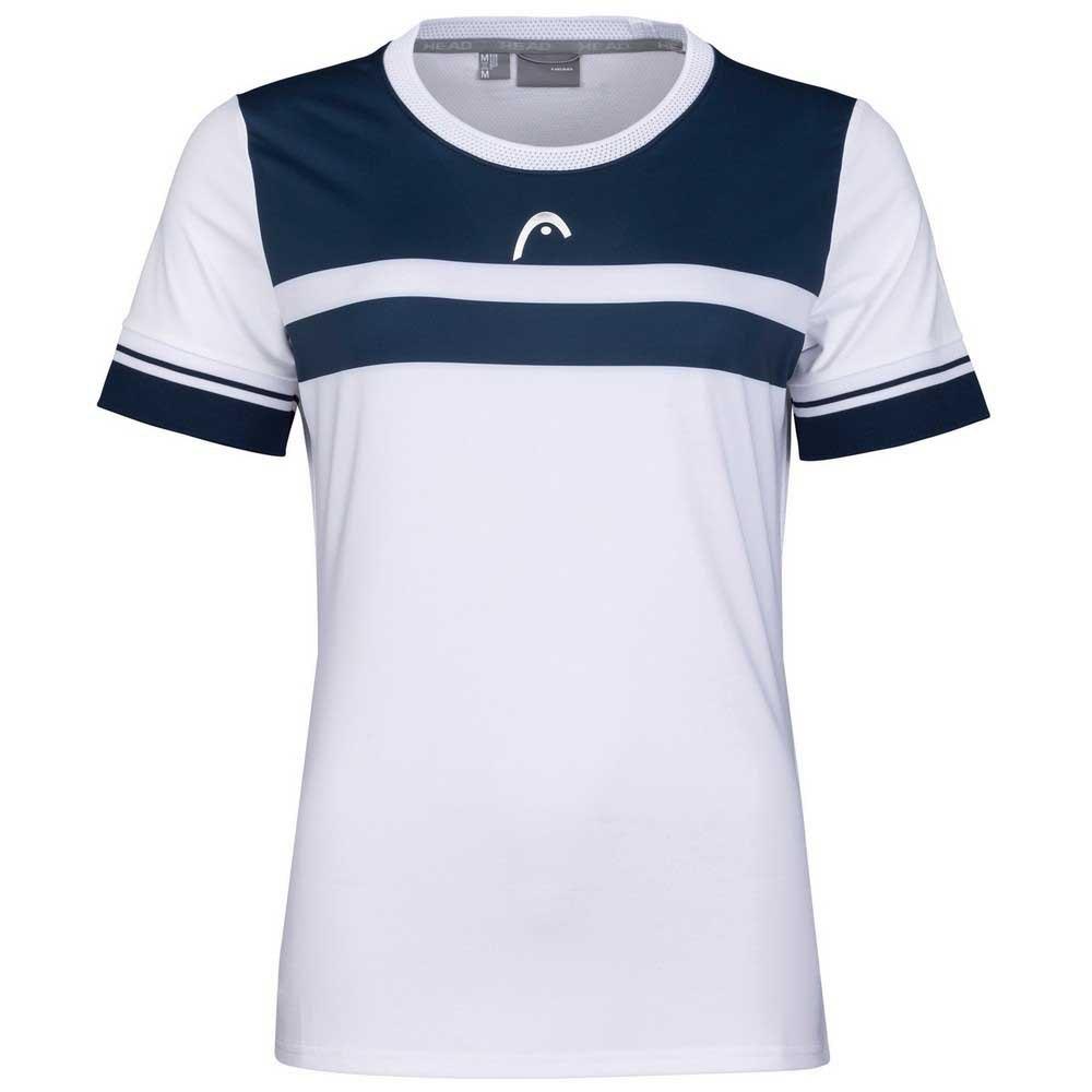 Head Racket T-shirt Manche Courte Performance L White / Print Perf