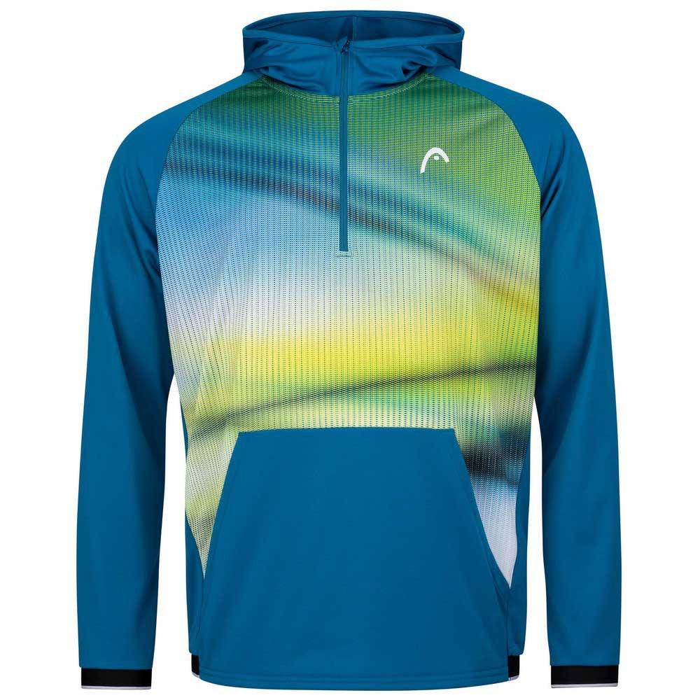 Head Racket Sweat À Capuche Power 128 cm Blue / Print Vision