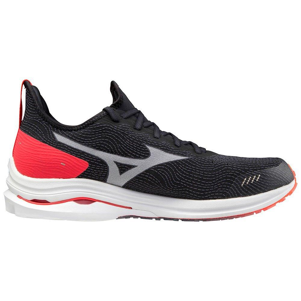 Mizuno Wave Rider Neo EU 39 Black / White / Ignition Red