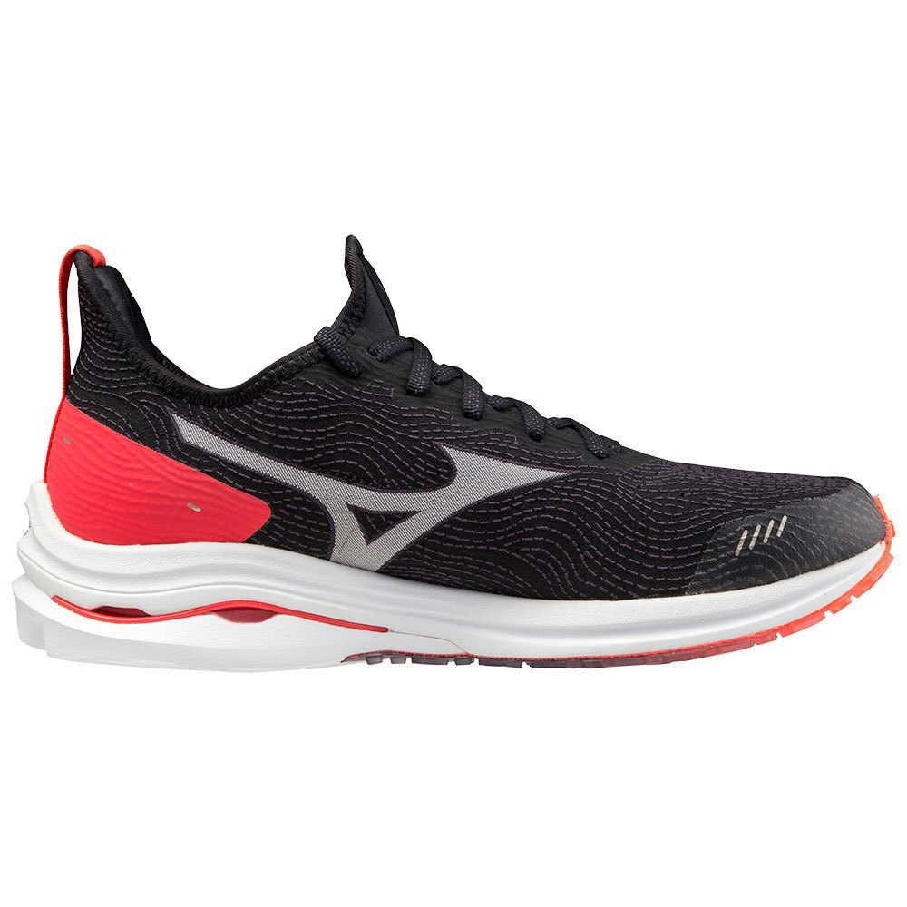 Mizuno Wave Rider Neo EU 37 Black / White / Ignition Red