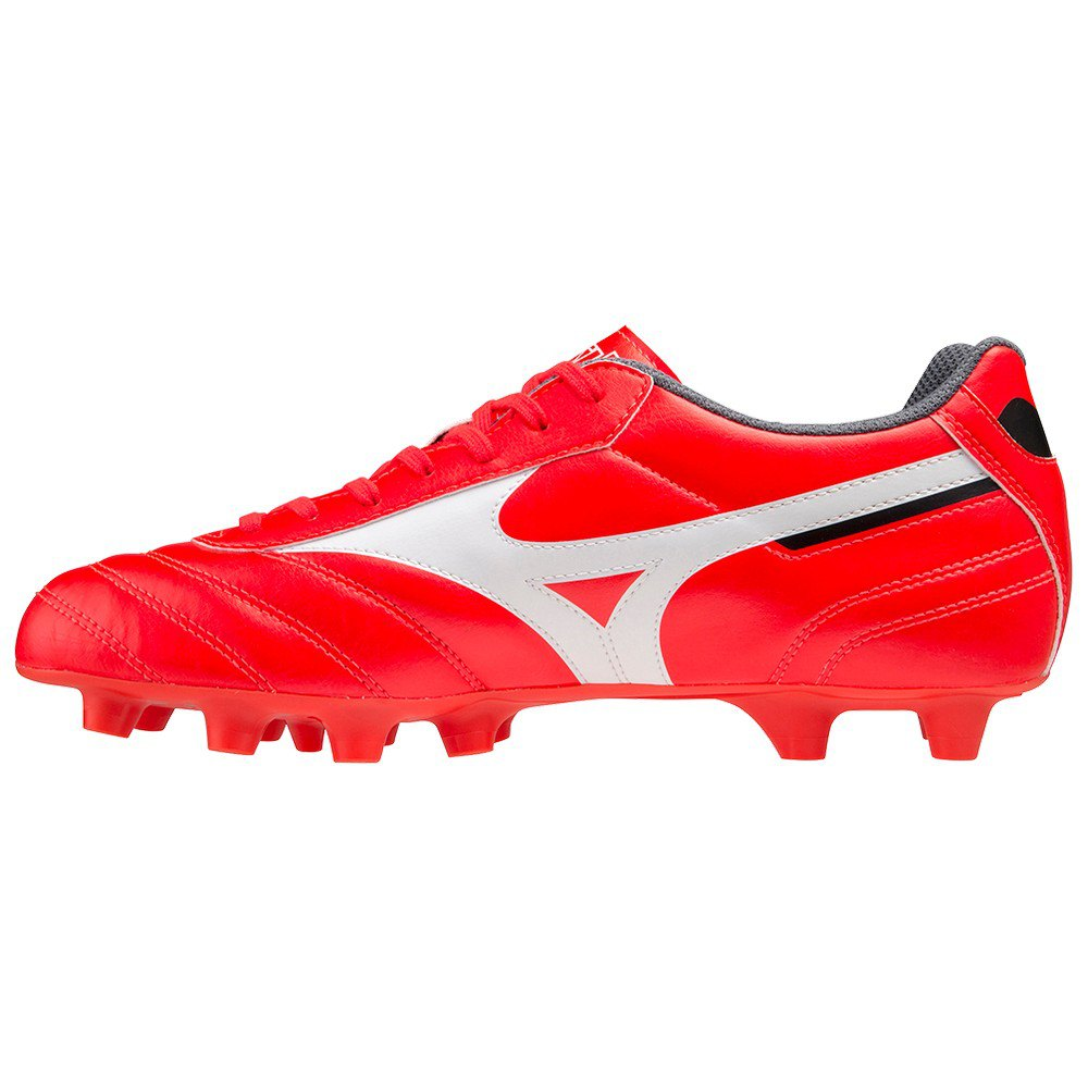Mizuno Chaussures Football Morelia Ii Club Ag EU 44 Ignition Red / White / Black