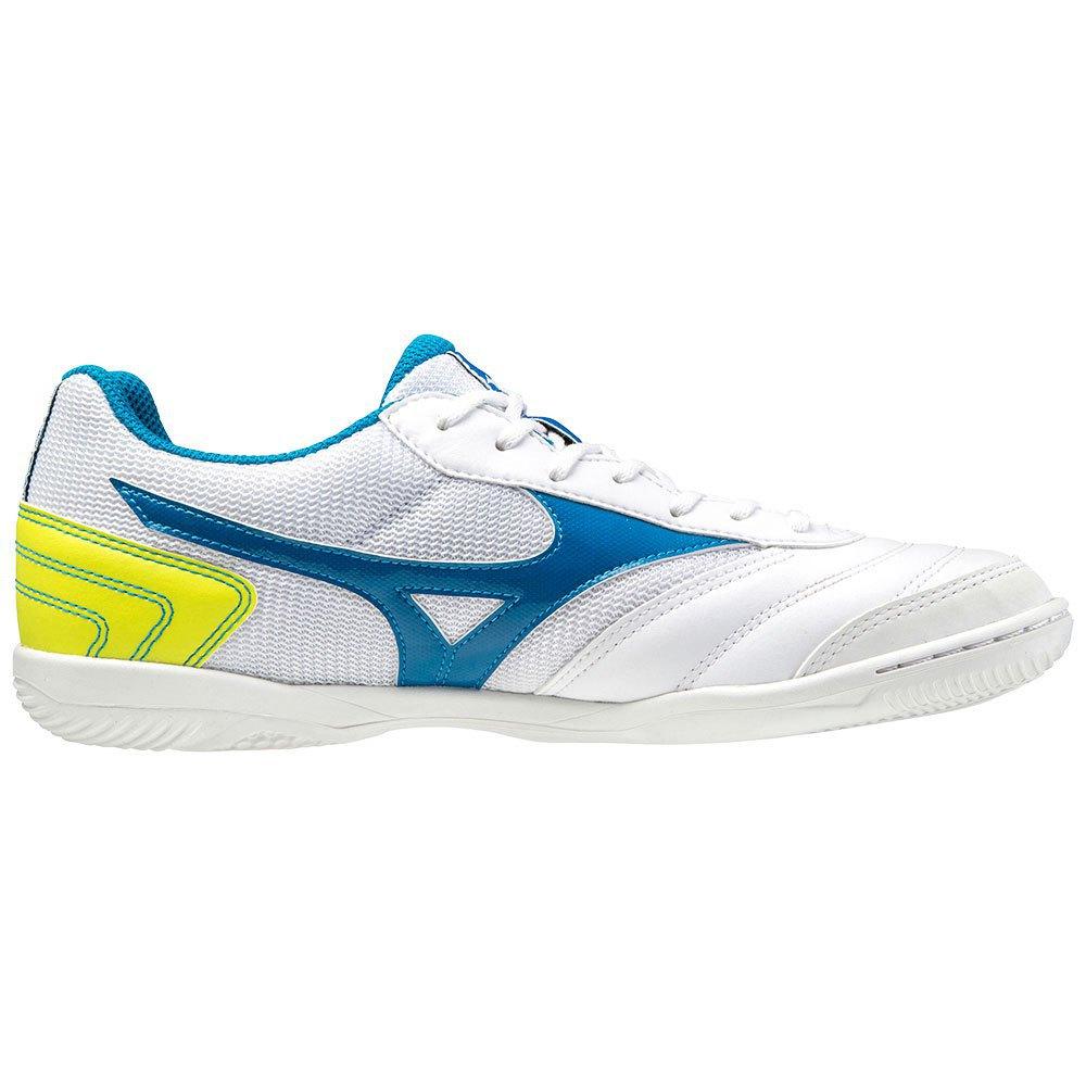 Mizuno Chaussures Football Salle Morelia Sala Club In EU 39 White / Mykonos Blue