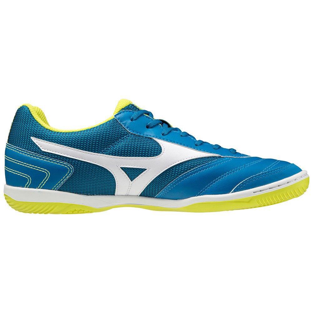 Mizuno Chaussures Football Salle Morelia Sala Club In EU 42 1/2 Mykonos Blue / White