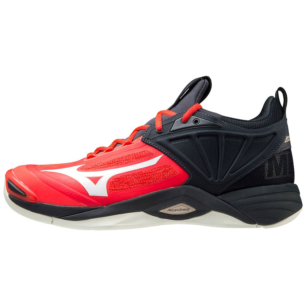 Mizuno Chaussures Wave Momentum 2 EU 40 Ignition Red / White / Salute