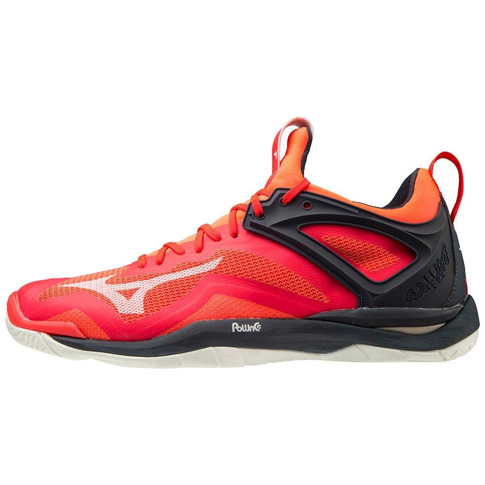 Mizuno Chaussures Wave Mirage 3 EU 40 1/2 Ignition Red / White / Salute