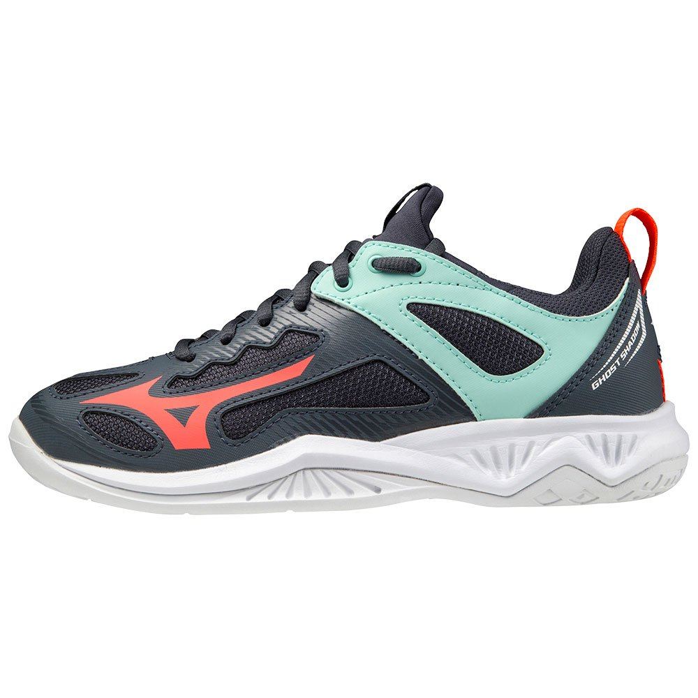 Mizuno Chaussures Ghost Shadow EU 36 1/2 India Ink / Fiery Coral 2 / Ice