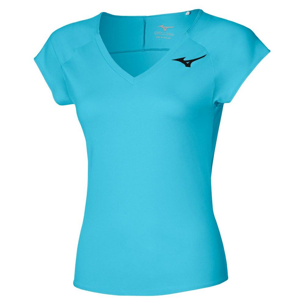 Mizuno T-shirt Manche Courte T-shirt S Scuba Blue