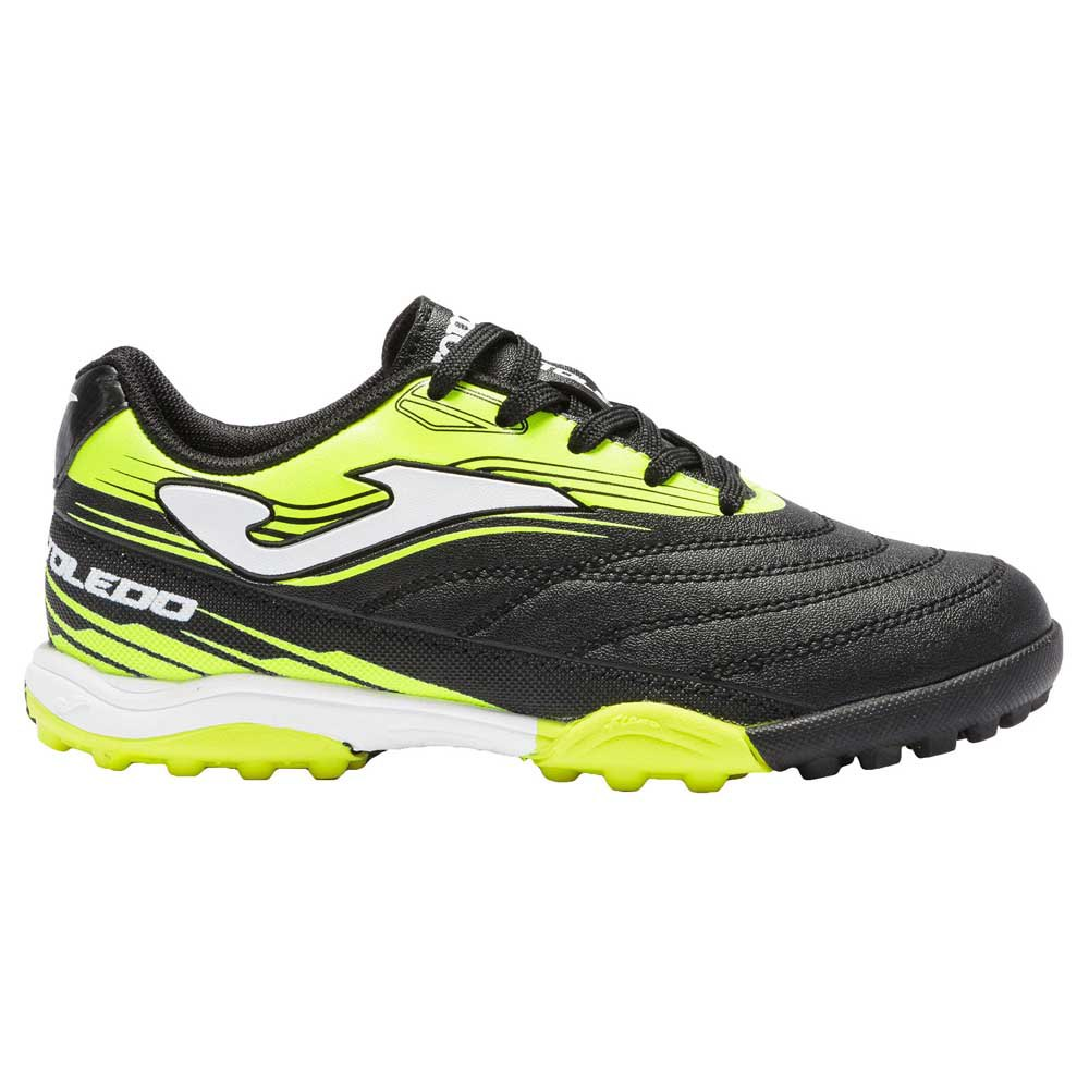 Joma Chaussures Football Toledo Hg EU 32 Black / Yellow Fluor