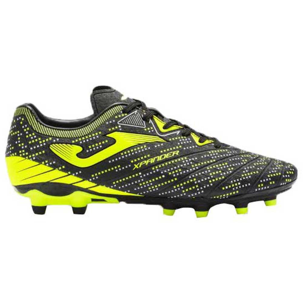 Joma Chaussures Football Xpander Ag EU 43 Black / Yellow Fluor