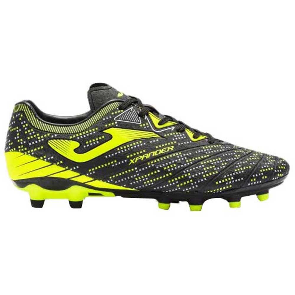 Joma Chaussures Football Xpander Fg EU 44 Black / Yellow Fluor