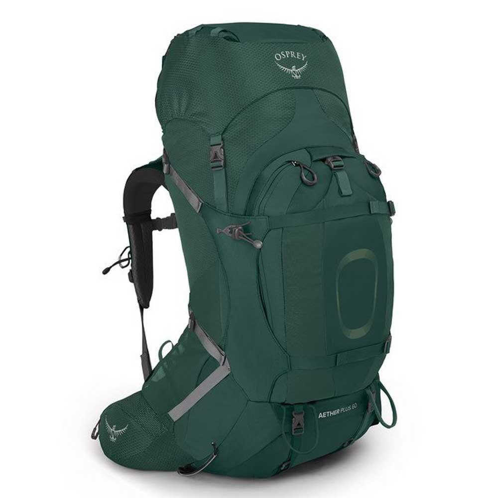 Osprey Aether Plus 60l Backpack L-XL Axo Green