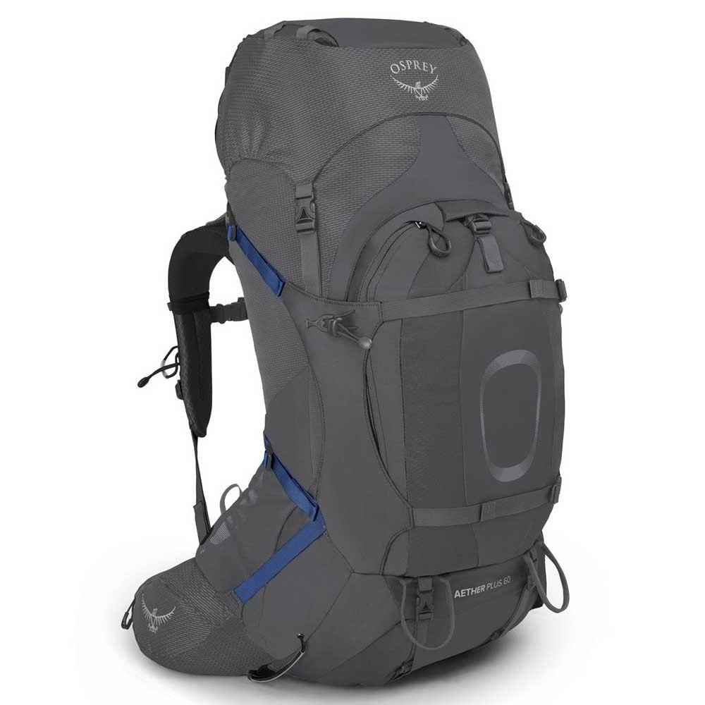 Osprey Aether Plus 60l Backpack L-XL Eclipse Grey