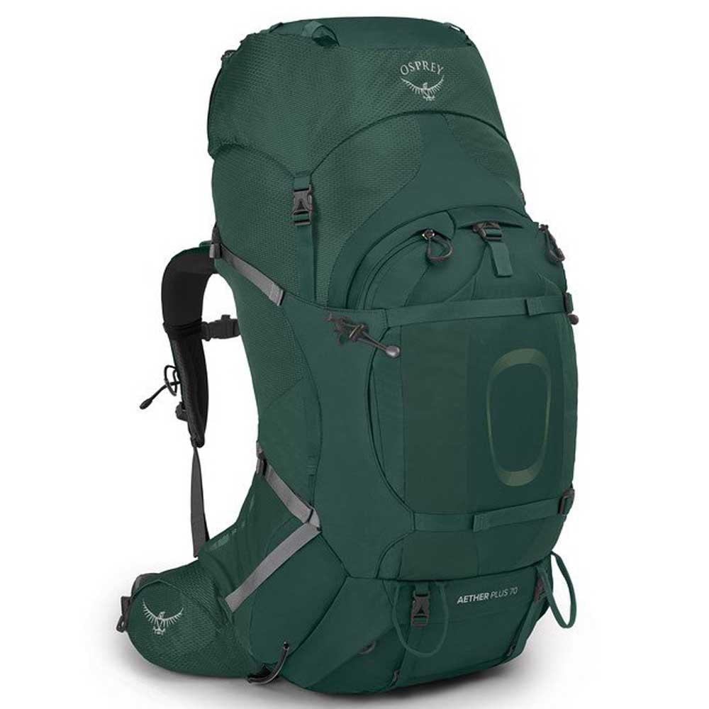 Osprey Aether Plus 70l Backpack L-XL Axo Green