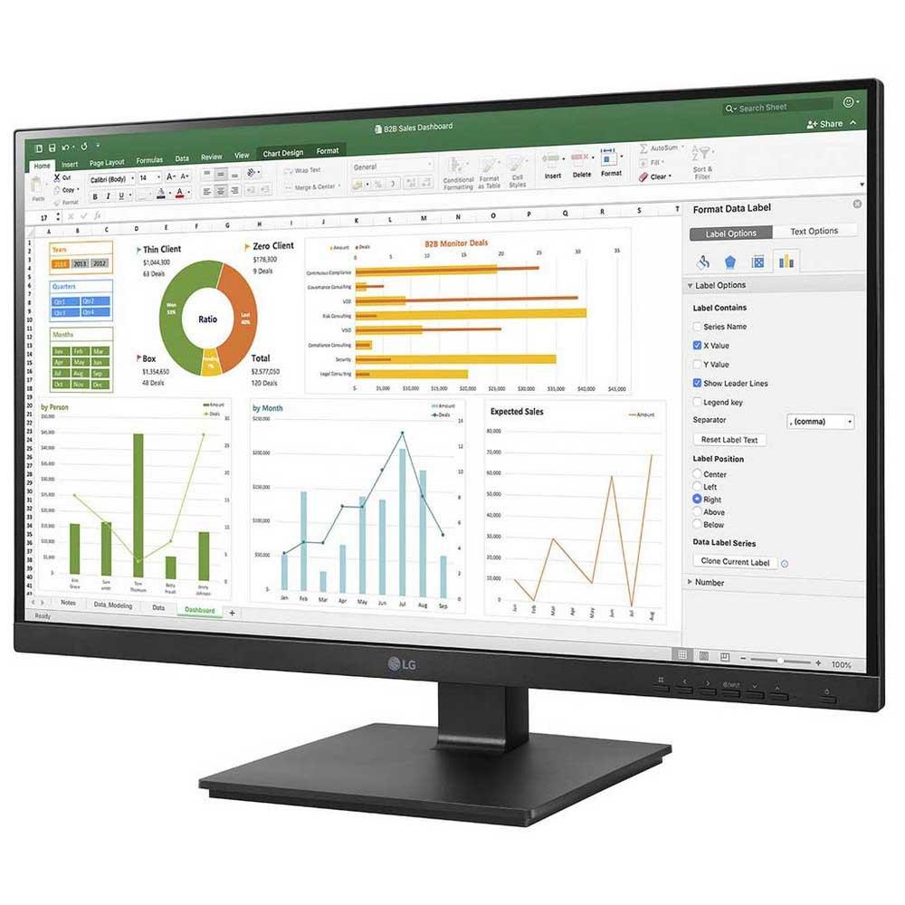 Monitor Lg 27bn650y 27'' Full Hd Led One Size Black