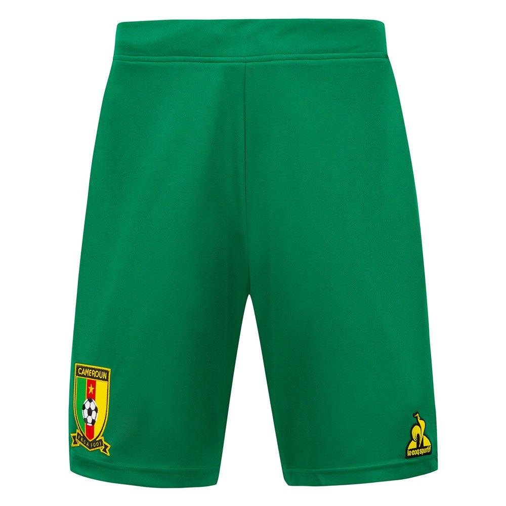 Le Coq Sportif Le Short Cameroun Pro 2021 XL Green Drill