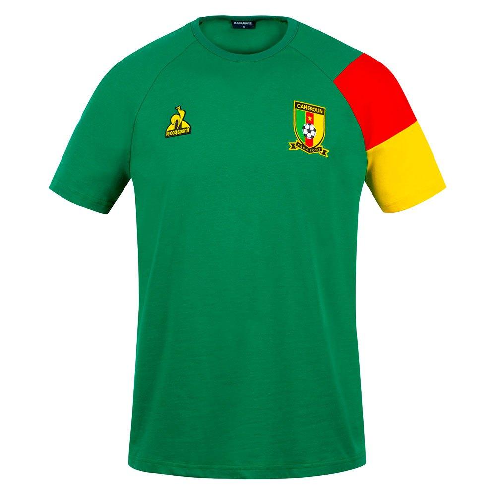Le Coq Sportif T-shirt Cameroun Présentation 2021 S Green Drill