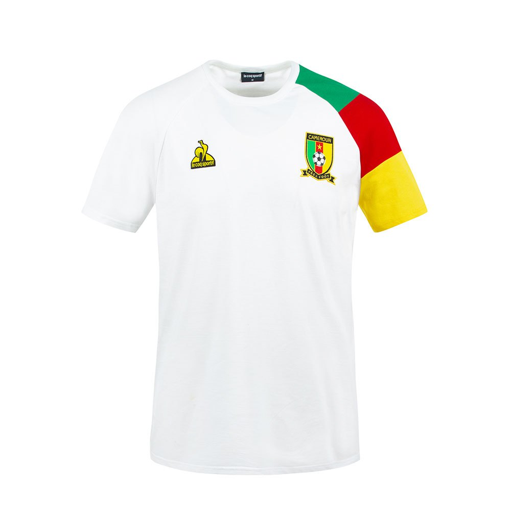 Le Coq Sportif T-shirt Cameroun Présentation 2021 M New Optical White
