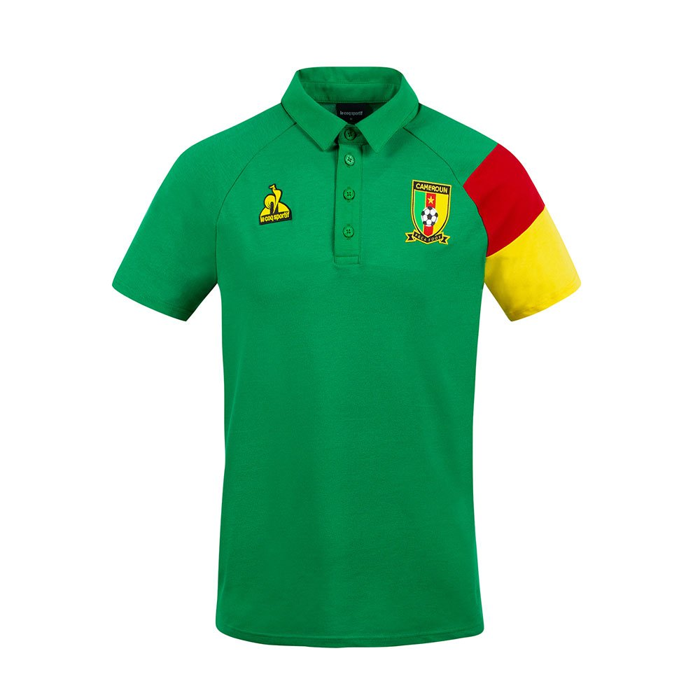 Le Coq Sportif Polo Cameroun Présentation 2021 L Green Drill