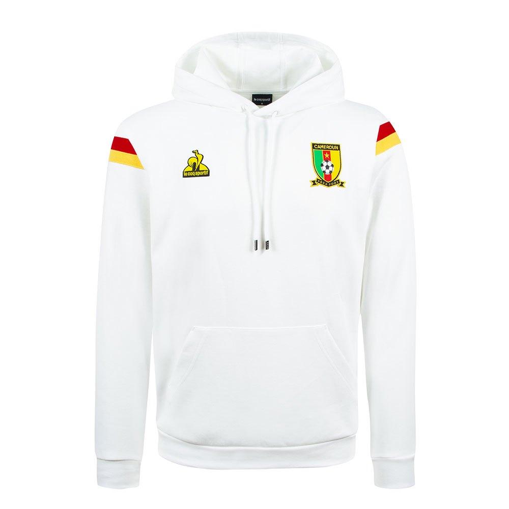 Le Coq Sportif Sweat-shirt Cameroun Présentation 2021 M New Optical White