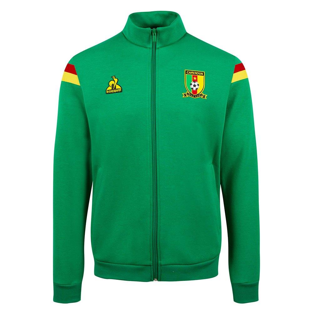 Le Coq Sportif Sweat-shirt Cameroun Présentation 2021 L Green Drill