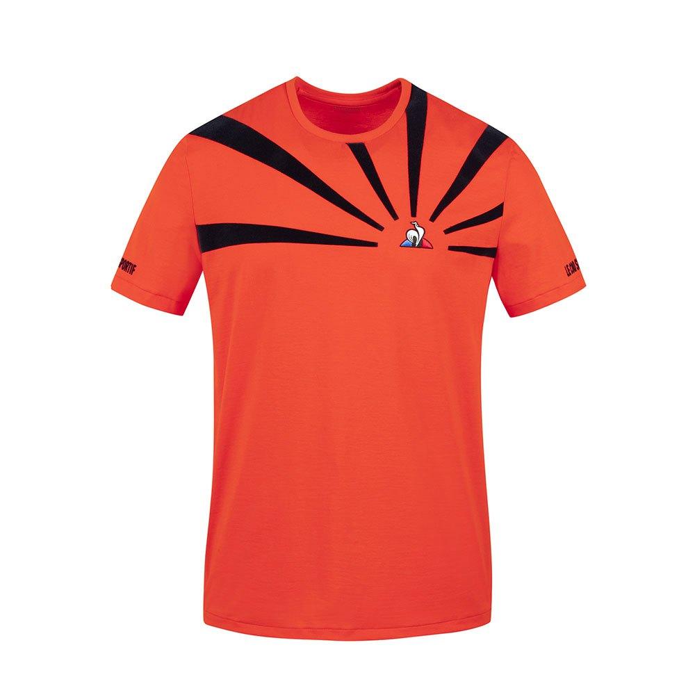 Le Coq Sportif T-shirt Manche Courte Tennis 20 N°2 S Orange