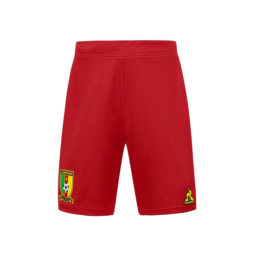Le Coq Sportif Le Short Cameroun Pro 2021 L Pure Red