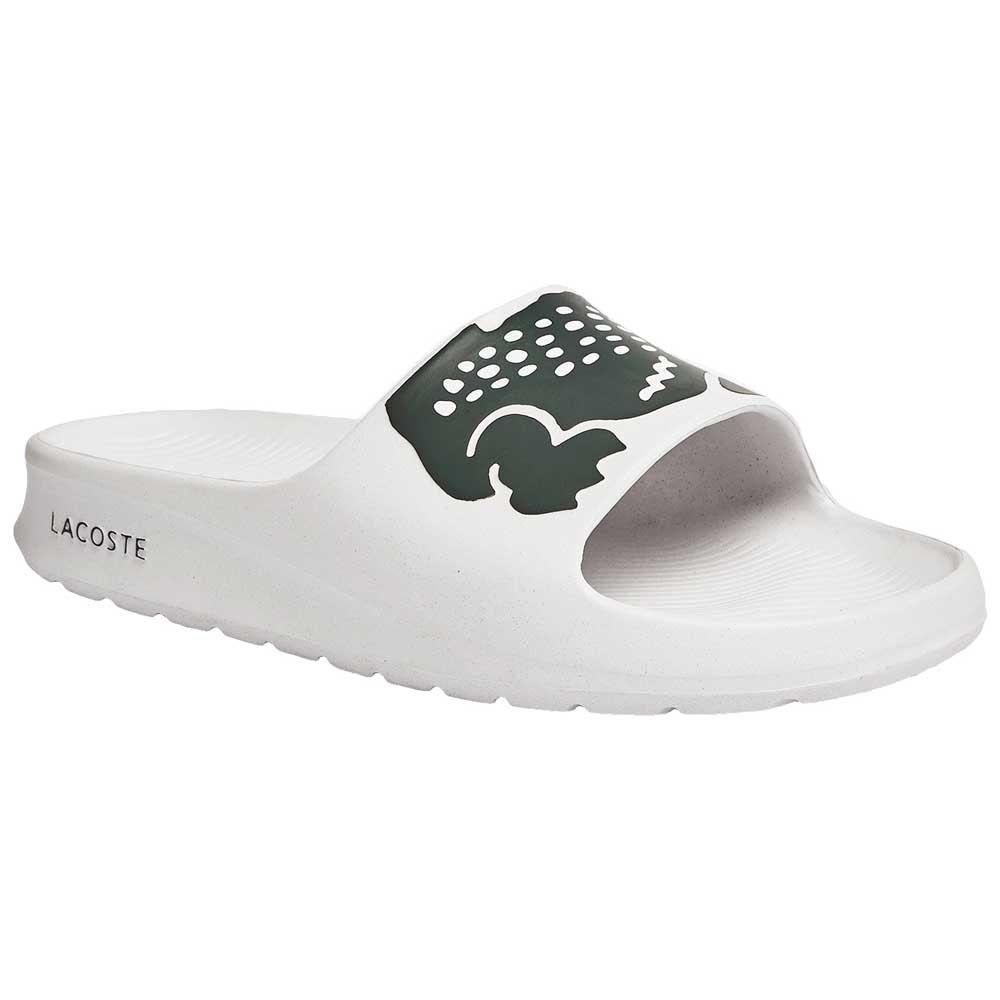 Lacoste Tongs Croco 2.0 Synthetic EU 42 White / Dark Green