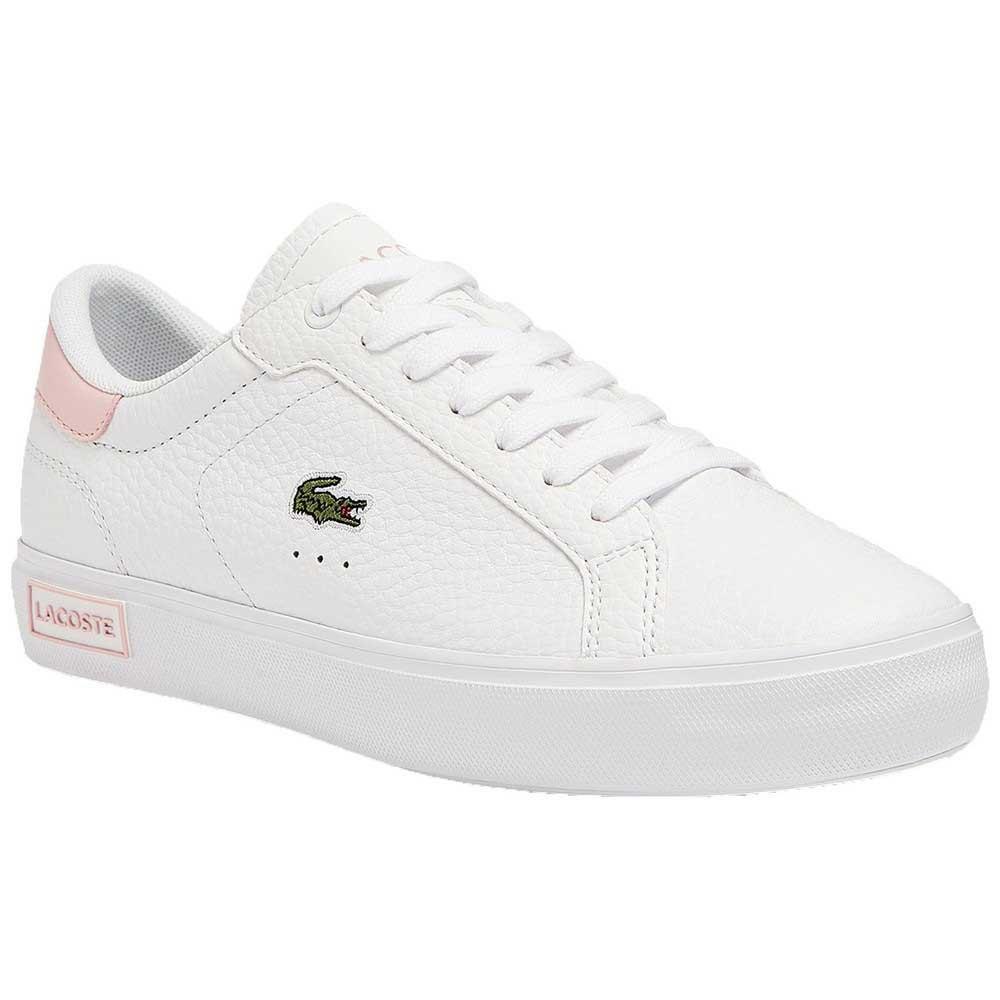 Lacoste 41sfa0048 EU 37 1/2 White / Light Pink