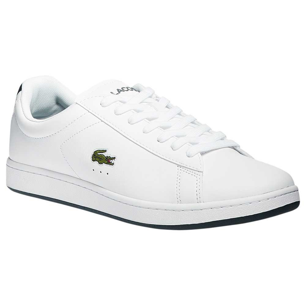 Lacoste Chaussures Carnaby Evo Cuir EU 43 White / Dark Green