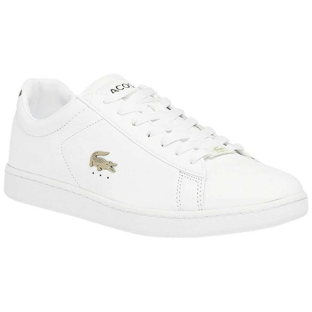 Lacoste Chaussures Canaby Evo Cuir Platinum EU 44 White / White