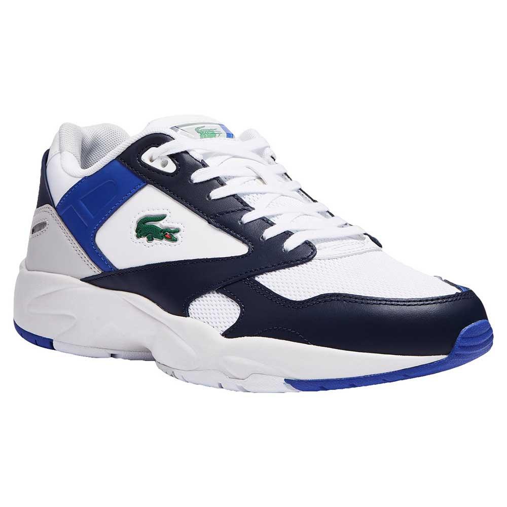 Lacoste Chaussures Storn 96 Lo Mesh Colour-pop EU 46 White / Navy