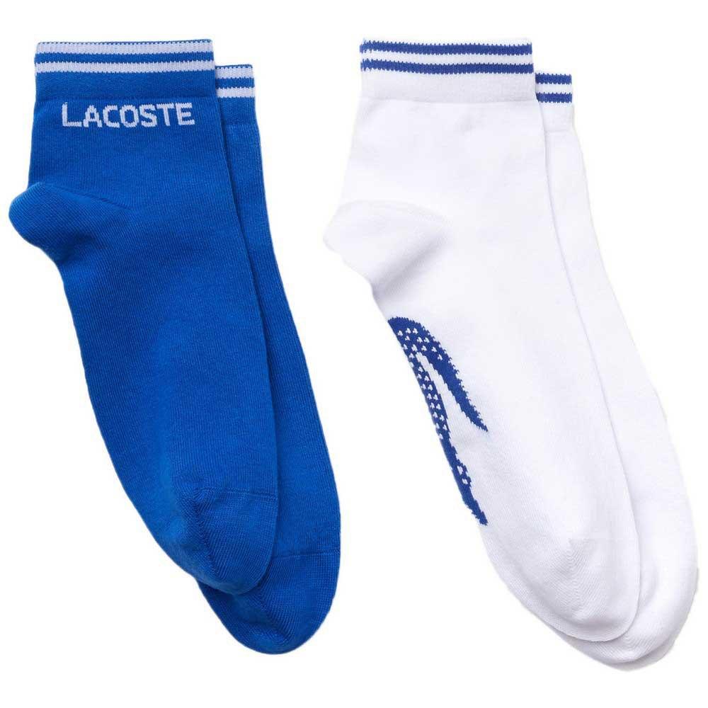 Lacoste Chaussettes Sport Cotton 2 Paires EU 36-40 Lazuli / Blanc