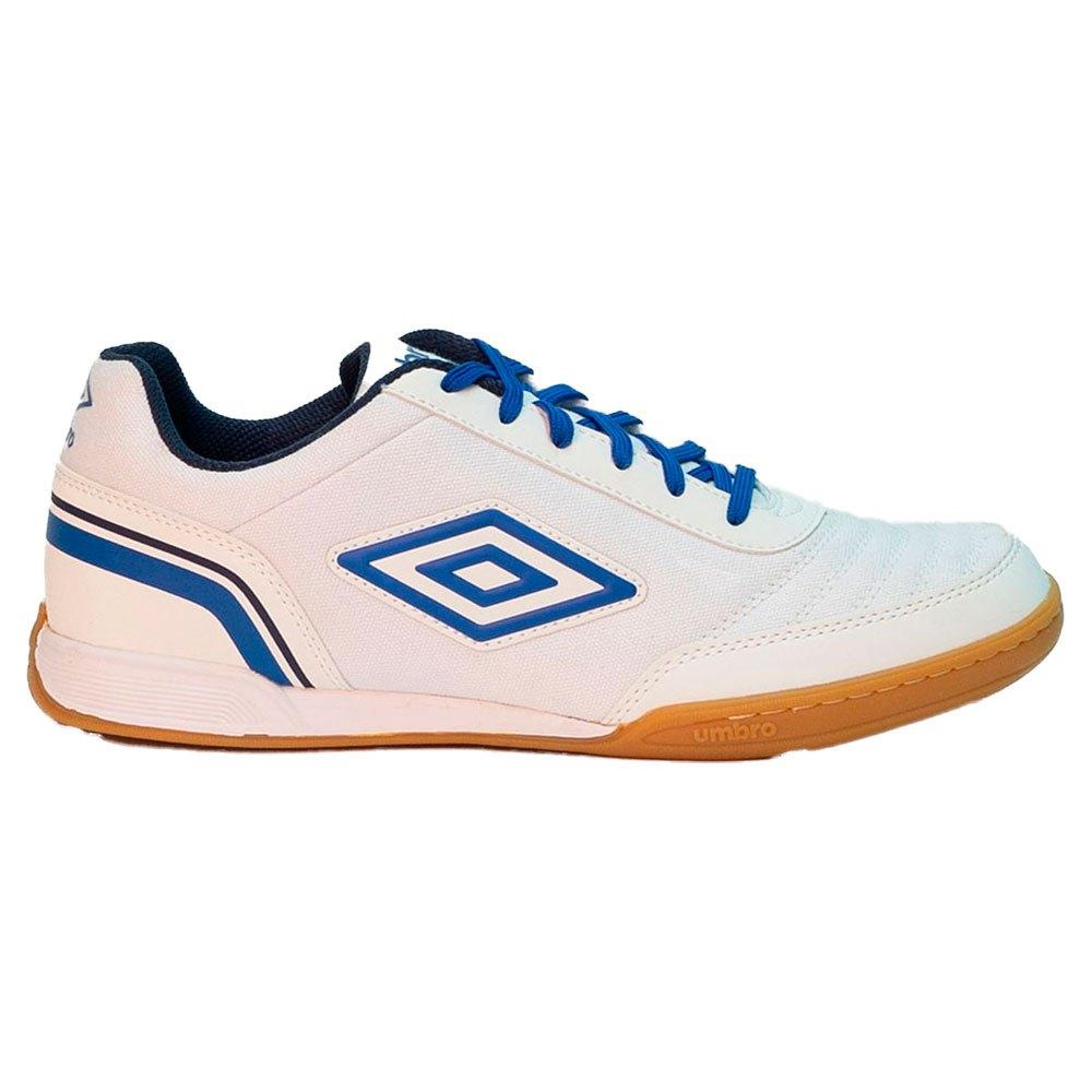 Umbro Chaussures Football Salle Futsal Street V EU 40 White / Regal Blue / Dark Navy